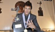 Neymar ganó el premio a Mejor Jugador de América en 2011 y 2012. Foto: Darwin Borrelli