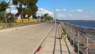 La nueva rambla en San Gregorio de Polanco. Foto: Giovanna Farias