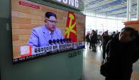 """El líder """"supremo"""" de Corea del Norte hizo un discurso en cadena nacional. Foto: Reuters"""