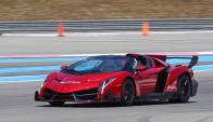 Lamborghini Veneno Roadster será el más caro de todos.