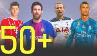 Goleadores con más de 50 goles en un año