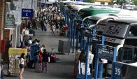 El 2 de enero es el día de cada año en que se da el mayor traslado de pasajeros. Foto: Fernando Ponzetto