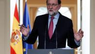 El presidente Rajoy destaca las cifras que muestran la caída del desempleo en España. Foto: Reuters