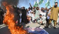 Donald Trump también provocó reacciones de rechazo en Pakistán a la acusación de que da protección a terroristas. Foto: AFP