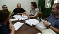 El sindicato implementó una votación secreta en todo el país. Foto: Marcelo Bonjour