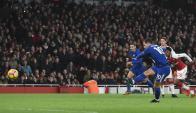 Hazard convierte el empate en Arsenal - Chelsea
