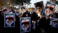 Teherán: protestas en Irán en contra del régimen de Rohani. Foto: AFP