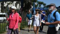 Familias enteras eligen los cruceros para salir de vacaciones. Foto: A. Colmegna