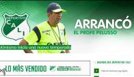 Pelusso empezó a trabajar en Deportivo Cali