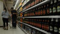 Bebidas alcohólicas: los precios subieron en promedio 6,31% el año pasado. Foto: F. Flores