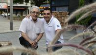 Carlos Goberna Junior y Juan Carlos Goberna. Foto: Marcelo Bonjour