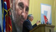 Protagonista: Raúl Castro seguirá como una figura relevante. Foto: AFP