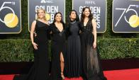 Reese Witherspoon, Eva Longoria, Salma Hayek y Ashley Judd Foto: AFP