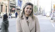 Intendenta: Adriana Peña defendió el aumento para su pareja. Foto: Darwin Borrelli