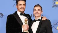 James Franco y Dave Franco. Foto: EFE