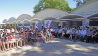 En la escuela 178 de la Unidad Casavalle se realizó el lanzamiento del programa. Foto: Presidencia