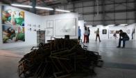 En la feria hubo más de 250 obras de 30 galerías de todo el mundo. Foto: R. Figueredo