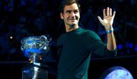 Roger Federer defenderá el título de Australia