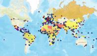 Así se ve el mapa. Foto: Captura sitio del departamento de Estado