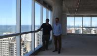 Mirada.El nuevo proyecto tendrá dos pisos para cowork y pequeñas oficinas para no perder el espíritu de Sinergia. (Foto: Ariel Colmegna)
