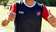 Pablo Migliore llegó a Atenas. Foto: Ricardo Figueredo