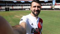 Lucas Pratto ya es jugador de River Plate. Foto: @CARPoficial