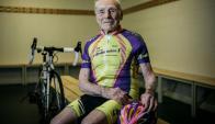 Robert Marchand, el ciclista francés que se retiró a los 106 años.