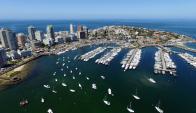 Hay lista de espera: a partir de hoy y durante la semana, el puerto alcanzará  el 100% de ocupación. Foto: R. Figueredo