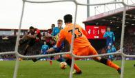 El Bournemouth le pegó un cachetazo al Arsenal