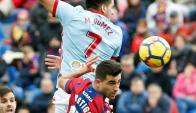 Celta de Vigo dejó atrás el golpazo que le dio el Barcelona. Foto: EFE
