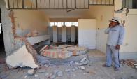 Terremoto en en Sur de Perú. Foto:Reuters