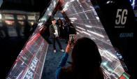 Feria CES en Las Vegas. Foto: EFE