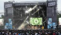 El Montevideo Rock fue un éxito de público y Martínez recibe críticas. Foto: Archivo El País