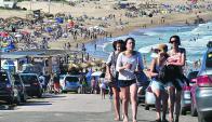 El 82% de los turistas en Rocha son uruguayos. Foto: Fernando Ponzetto