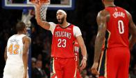 Anthony Davis la rompió en el Madison Square Garden