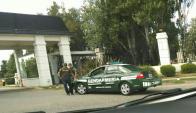 Allanaron una propiedad de Balcedo en el country Abrili. Foto: Twitter @MujerDemente