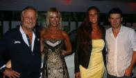 Cristiano Rattazzi, Gabriela Castellani, Carla Francovigh y Guillermo Coria. Foto: M. Gallardo