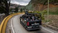 En la captura de Pérez participaron unidades de la Policía y del Ejército. Foto: EFE