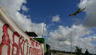 Protestas en Treinta y Tres. Foto: Fernando Ponzetto