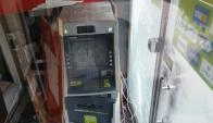 Intentaron robar cajero en Cerrito de la Victoria. Foto: El País
