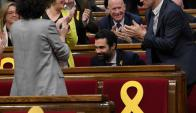 "Torrent: nuevo presidente del ""parlament"". Foto: AFP"
