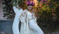 Un homenaje: Valentina Estol en el papel de Frida Kahlo. Foto: Facebook Valentina Estol