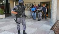Cofre de seguridad de Marcelo Balcedo. Foto: R. Figueredo