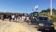 Minas: fue allí donde se mostró ayer malestar con el gobierno. Foto: El País
