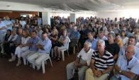 El tradicional encuentro de La Paloma celebrado ayer tuvo una nutrida asistencia. Foto: R. Figueredo