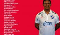 La lista de convocados de Nacional para el clásico