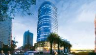 La torre de 25 pisos tendrá un estacionamiento para 179 vehículos. Foto: El País