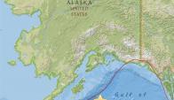 Mapa del Centro Geológico de EEUU que muestra localización del terremoto. Foto: EFE
