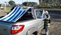 Desde Salto parten hacia Durazno. Foto: Luis Pérez