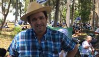 Marcelo, productor de Cerro Largo. Foto: Mateo Vázquez